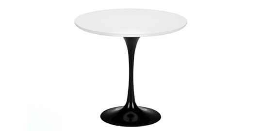 knoll international-saarinen tisch 800mm fuß klein - eero saarinen