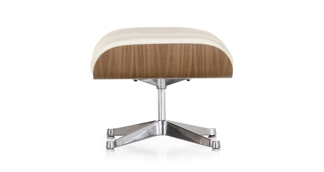 vitra - ottomane weiss - charles & ray eames